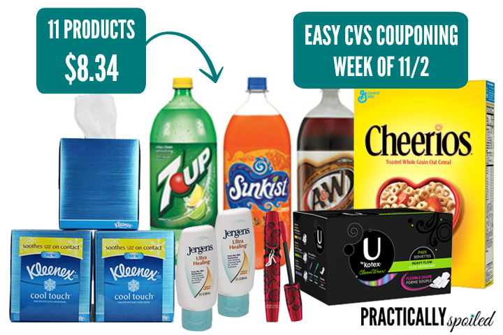 Easy CVS Couponing 11/2 - practicallyspoiled.com