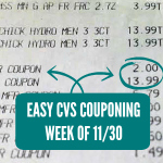 Easy CVS Couponing – Week of 11/30