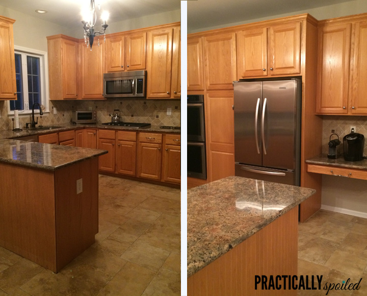 Kitchen Remodels With Light Oak Cabinets