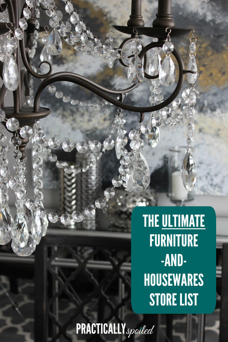 The Ultimate Furniture Amp Housewares Store List